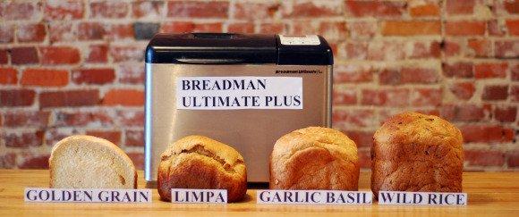 breadman bread machine recipes & instruction manual