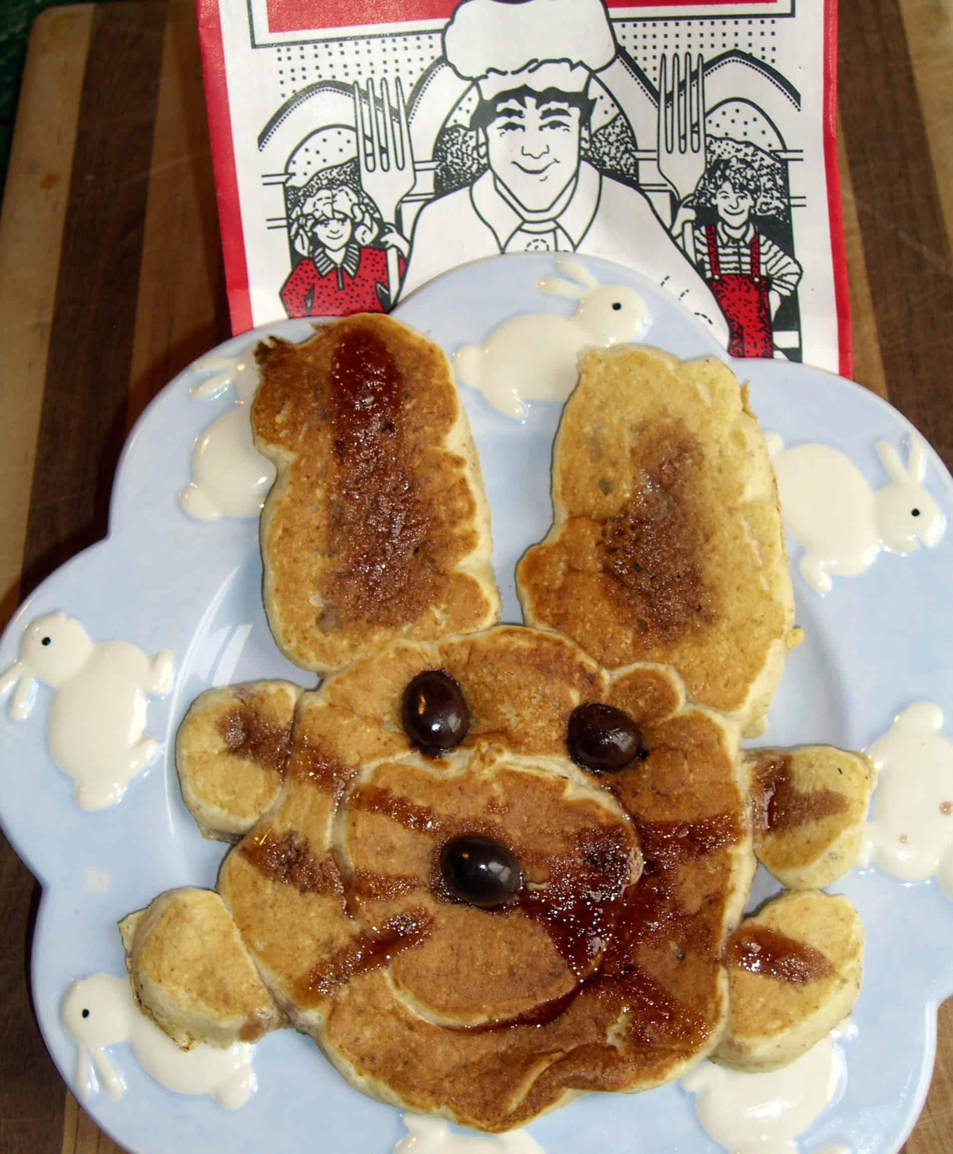 Spring Pancake Art