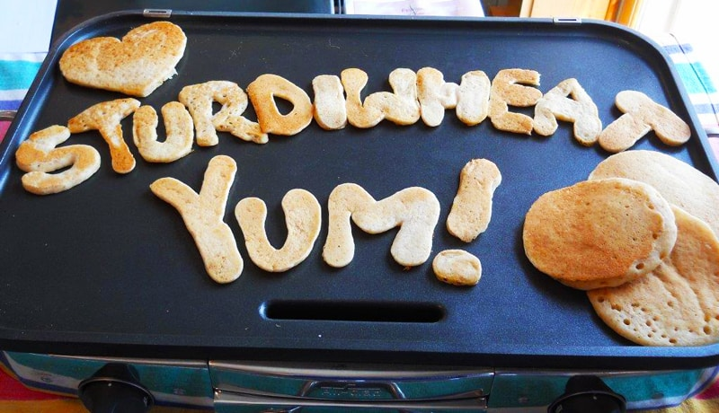 say it with pancakes