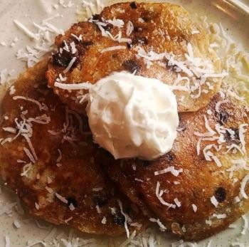 Coconut pancakes 5