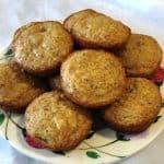 Banana Almond Pecan Muffins