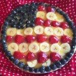Flag Fruit Torte