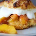 Grilled Peach Shortcake