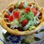 Taco Waffle Bowl