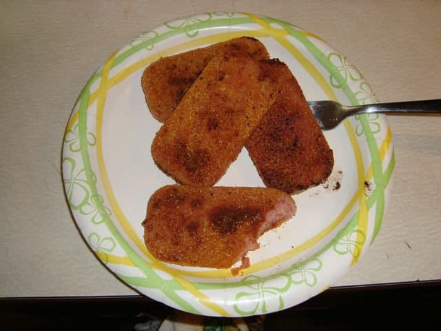 cajun fried spam