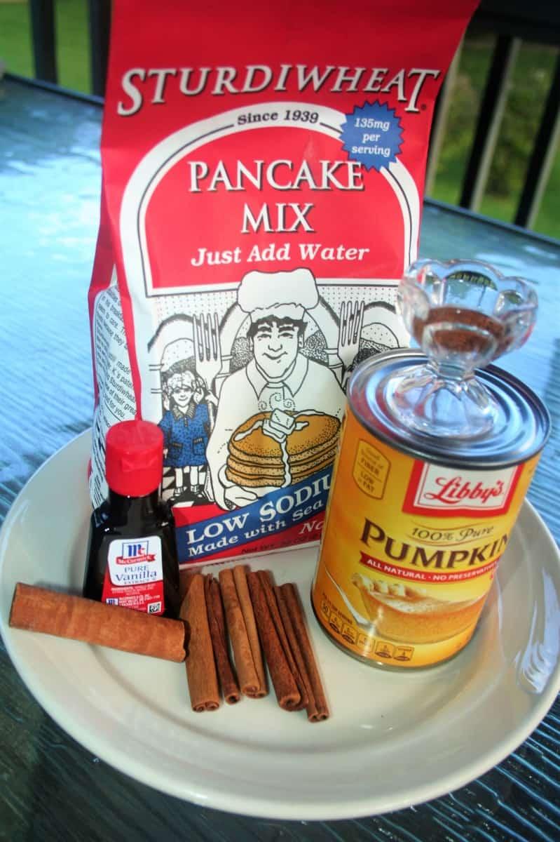 Low-Salt Pumpkin Sturdiwheat Pancakes